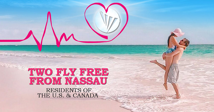 Two Fly Free From Nassau – Residents of the U.S. & Canada