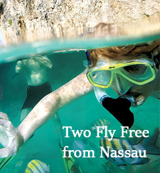 European Residents:Two Fly Free From Nassau