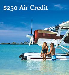 European Residents:  $250 Air Credit