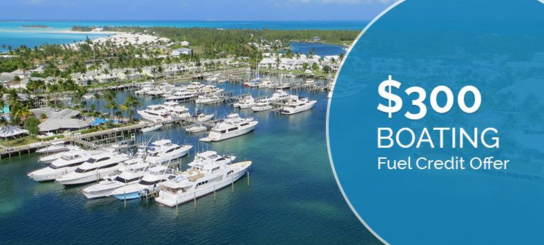 $300 Boating Fuel Credit