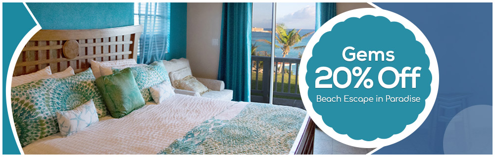 Gems 20% Off Beach Escape in Paradise