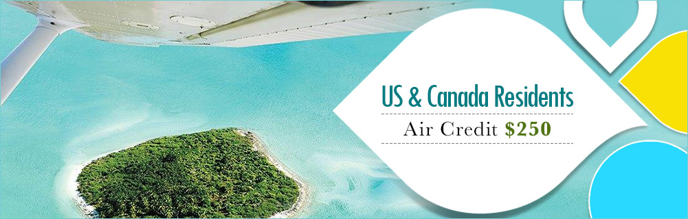 $250 Air Credit – Residents of the U.S. & Canada